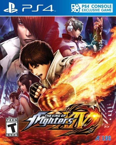 The King of Fighters XIV disponible en PS4 portada criticsight 2016