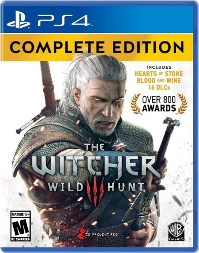 Witcher 3 Wild Hunt Complete Edition disponible en PS4 y XBOX One portada criticsight