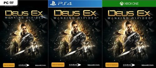 deus ex mankind divided covers ps4 xbox one pc criticsight 2016