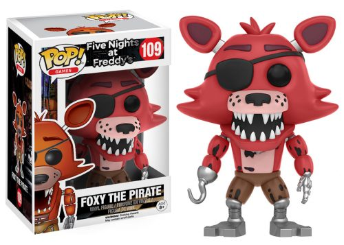 Figuras Funko Pop de Five Nights at Freddy´s 2016 criticsight HD imágenes FOXY THE PIRATE