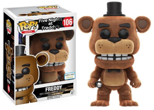 Figuras Funko Pop de Five Nights at Freddy´s 2016 criticsight HD imágenes FREDDY 2