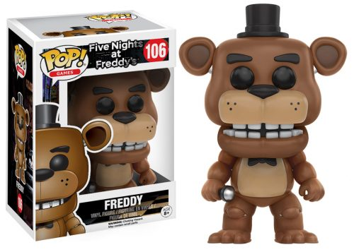 Figuras Funko Pop de Five Nights at Freddy´s 2016 criticsight HD imágenes FREDDY