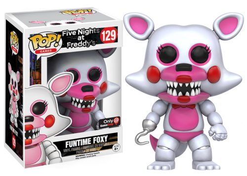 Figuras Funko Pop de Five Nights at Freddy´s 2016 criticsight HD imágenes FUNTIME FOXY