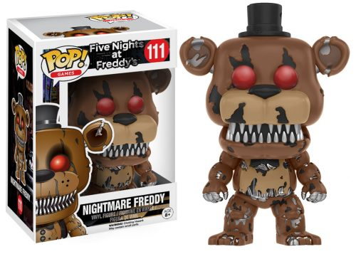 Figuras Funko Pop de Five Nights at Freddy´s 2016 criticsight HD imágenes NIGHTMARE FREDDY