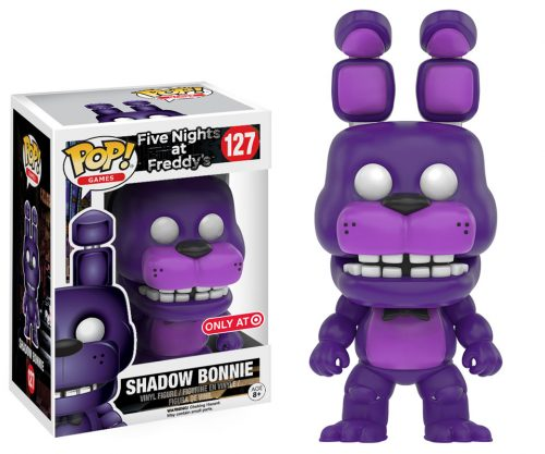 Figuras Funko Pop de Five Nights at Freddy´s 2016 criticsight HD imágenes  SHADOW BONNIE