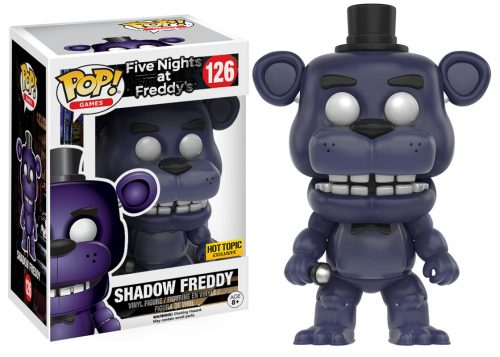 Figuras Funko Pop de Five Nights at Freddy´s 2016 criticsight HD imágenes  SHADOW FREDDY