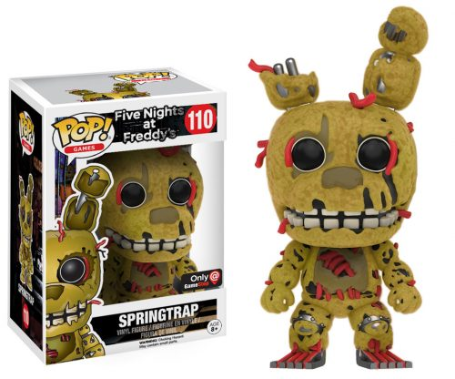 Figuras Funko Pop de Five Nights at Freddy´s 2016 criticsight HD imágenes SPRINGTRAP 2