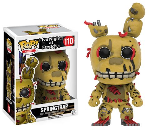 Figuras Funko Pop de Five Nights at Freddy´s 2016 criticsight HD imágenes SPRINGTRAP
