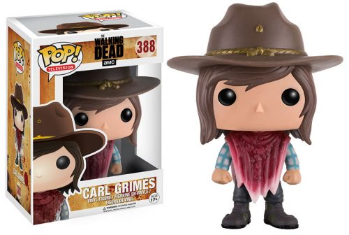 Figuras Funko Pop de The Walking Dead Temporada criticsight 2016 imagen CARL GRIMES
