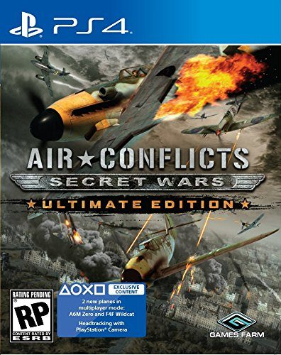 Air Conflicts Secret Wars disponible en PS4 portada criticisght 2017