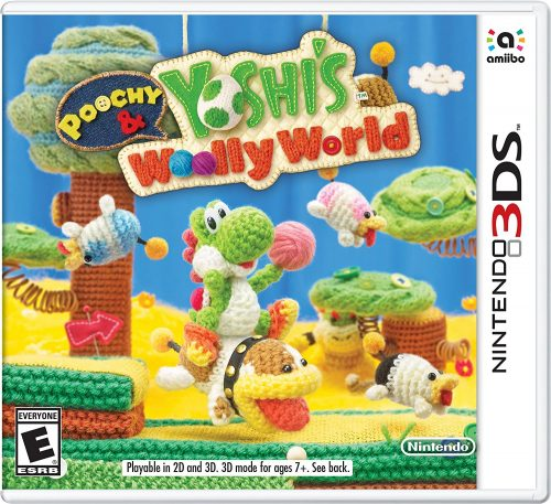 Poochy & Yoshi Woolly World disponible en 3DS portada criticsight 2017