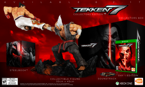 Tekken 7 Consolas PS4 XBOX One PC Criticsight 2017 Imagen edicion de coleccion xbox one