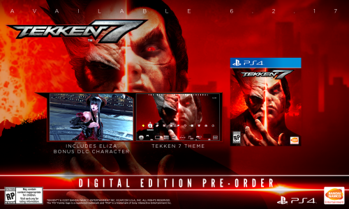 Tekken 7 Consolas PS4 XBOX One PC Criticsight 2017 Imagen version digital normal ps4