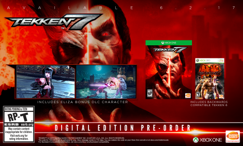 Tekken 7 Consolas PS4 XBOX One PC Criticsight 2017 Imagen version digital xbox normal