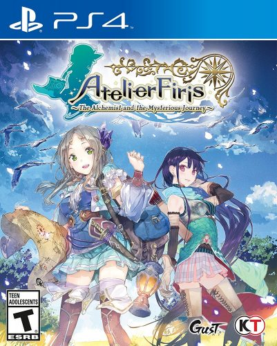 Atelier Firis The Alchemist and the Mysterious Journey disponible en PS4 portada criticisght 2017