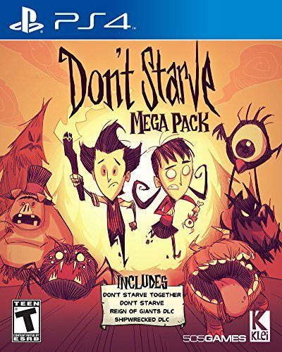 Don´t Starve disponible en PS4 portada criticsight