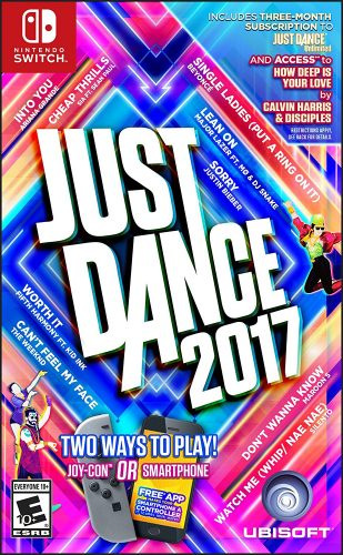 Just Dance 2017 disponible en Nintendo Switch portada criticisght 2017