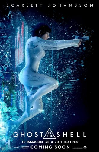 La Vigilante del Futuro Ghost in the Shell poster latino español mexico final 2017