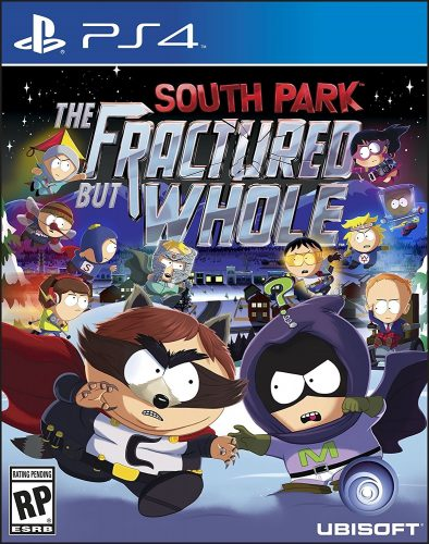 South Park The Fractured but Whole disponible en PS4, XBOX One y PC portada