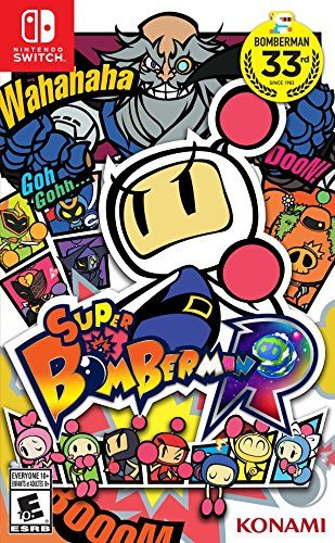 Super Bomberman R disponible solo en Nintendo Switch portada criticsight