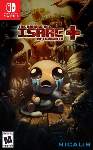 The Binding of Isaac Afterbirth disponible en Nintendo Switch portada criticsight 2017
