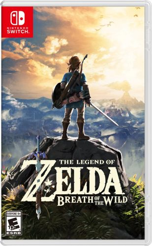 The Legend of Zelda Breath of the Wild disponible en Nintendo Switch y WII U