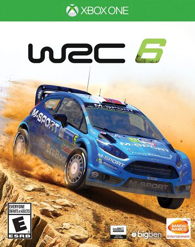 WRC 6 disponible en XBOX One y PS4 portada criticisght