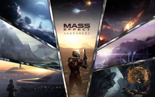 mass effect andromeda wallpaper 2017 EA Mexico criticisght