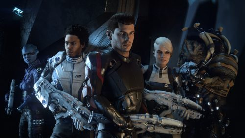 mass effect andromeda wallpaper elenco cast criticisght 2017