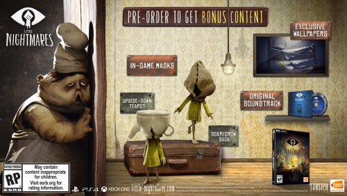 Little Nightmares Juego Terror Aventura 2017 Criticsight Imagen pre orden pc steam