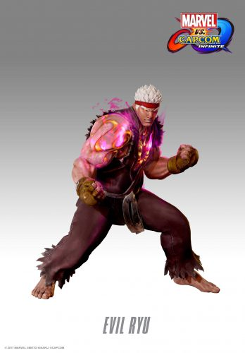 Marvel vs Capcom Infinite 2017 criticsight imagen Traje DLC Evil Ryu