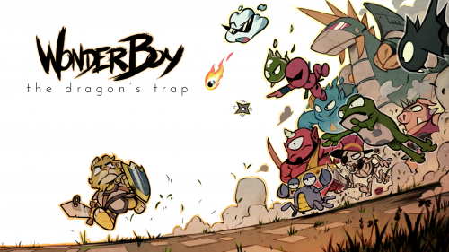 wonder boy The Dragons Trap wallpaper criticsight