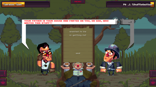 Oh…Sir!! The Insult Simulator criticsight 2017 imágenes 3