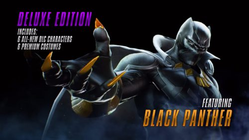 Marvel vs Capcom Infinite 2017 Criticsight Imagen black panther DLC