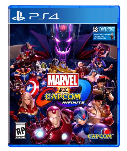 Marvel vs Capcom Infinite 2017 Criticsight Imagen portada cover front PS4 oficial