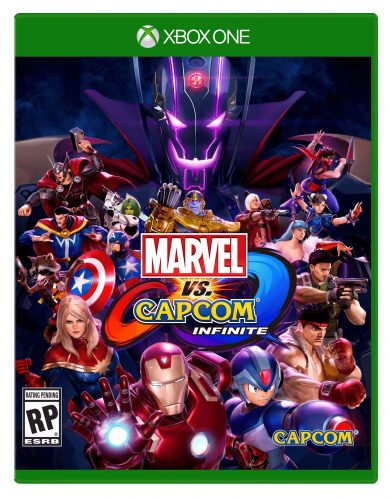 Marvel vs Capcom Infinite 2017 Criticsight Imagen portada cover front xbox one oficial